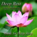 deep rest guided meditations for relaxation cover